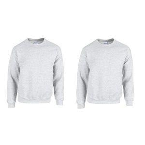 NWT Gildan Men's Heavy Blend Sweatshirt 2pks